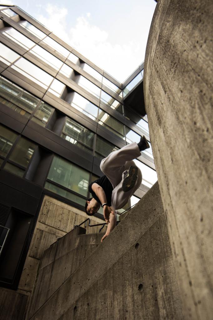 Fotografering för Stockholm Parkour Academy