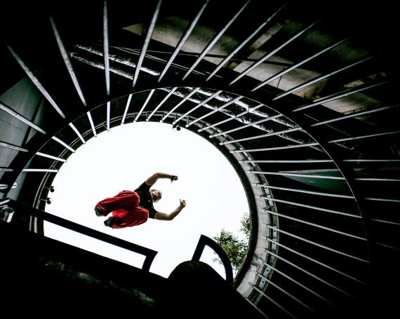 Travel Photography with Quality Movement Parkour