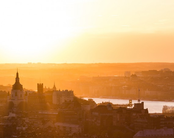 Stockholm by Sunset